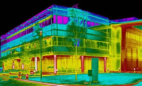 infrared thermography bulding